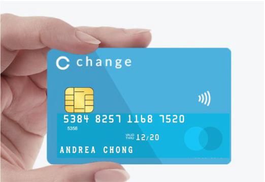 changeカード