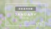 資産運用実績2018年1月中間